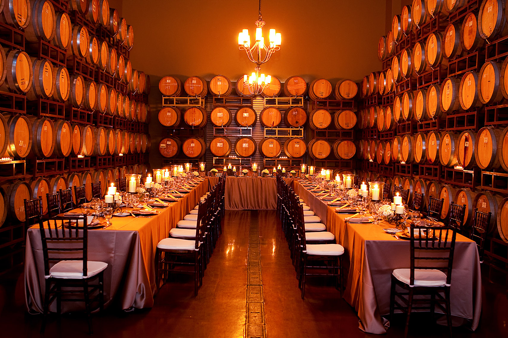 Wilson Creek Barrel Room Wedding - Temecula